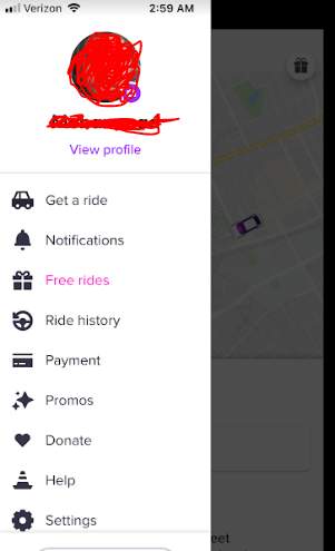 create lyft account after download